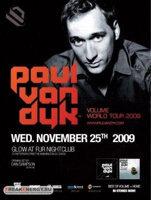 Paul van Dyk - Club Fur, Washington DC (25-11-2009)