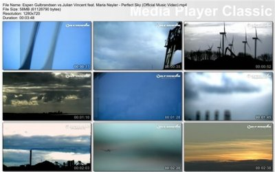 Espen Gulbrandsen vs.Julian Vincent feat. Maria Nayler - Perfect Sky (Official Music Video)