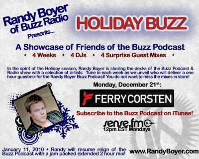 Ferry Corsten - Guest Buzz Radio Show Week Two (21-12-2009)