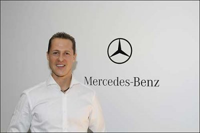 Официально: Михаэль Шумахер – гонщик Mercedes GP Petronas
