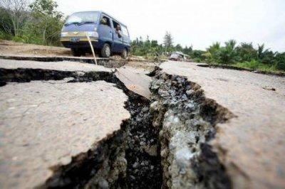 Сильное землетрясение в Калифорнии оставило без электричества тысячи домов