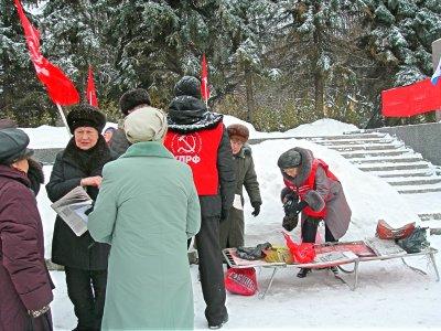 23 февраля в рамках Всероссийской акции протеста в Чебоксарах прошел митинг