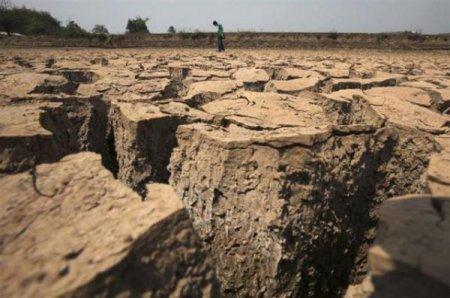 Небывалая засуха в Китае (26 фото)