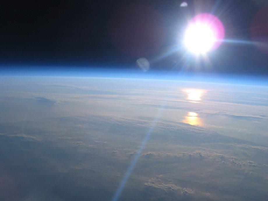 Думаете это фото со спутника. Ничего подобного. Всё, что