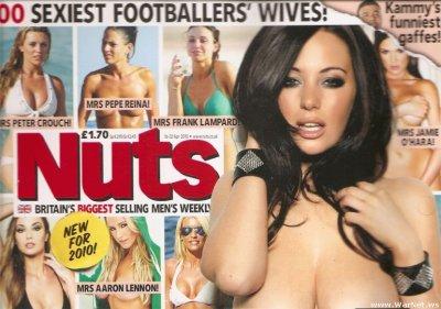 Сексуальные жены футболистов (17 сканов журнала)