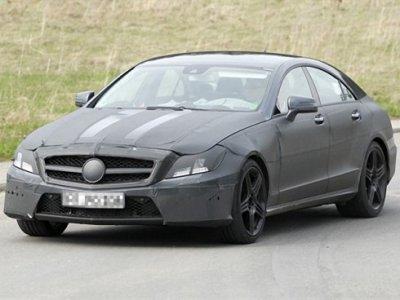 Шпионские фото нового Mercedes-Benz CLS AMG