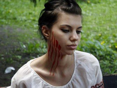 Очередная акция Femen
