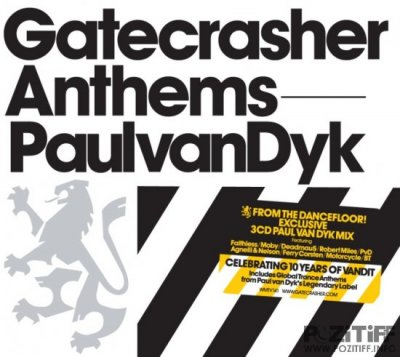 Gatecrasher Anthems Paul Van Dyk 3CD 2010