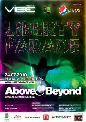 Above & Beyond - Liberty Parade 2010 (24-07-2010)
