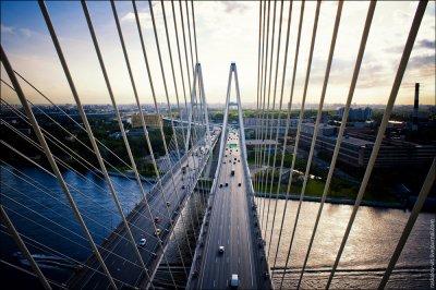 Питер: Большой Обуховский Мост