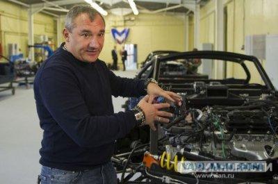 Николай Фоменко и его Marussia Motors