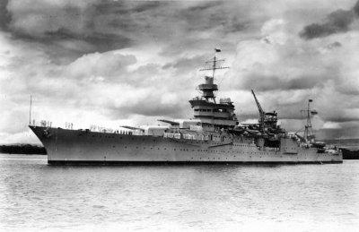 Гибель крейсера Индианаполис