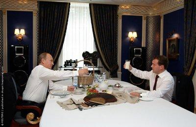 Рабочая встреча с Председателем Правительства Владимиром Путиным