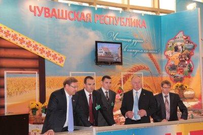 Аграрии Чувашии продемонстрировали свои достижения в Москве