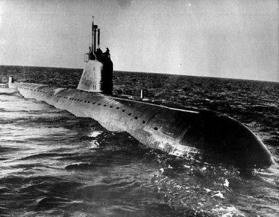 Первая атомная подводная лодка Советского Союза