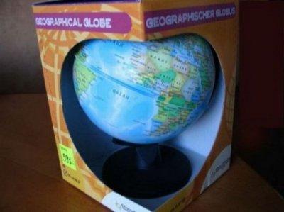 Китайский глобус (9 фото)