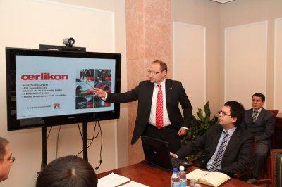 Встреча Президента Чувашии  с представителями ОАО «Хевел»