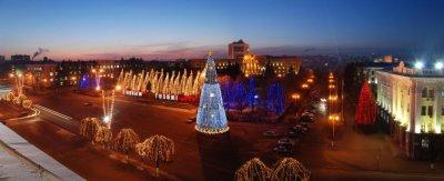 19 ноября в Чебоксарах начнут установку главной новогодней ёлки