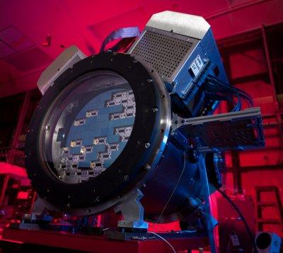 Фоторепортаж со строительства 570-мегапиксельной камеры (фото + видео)