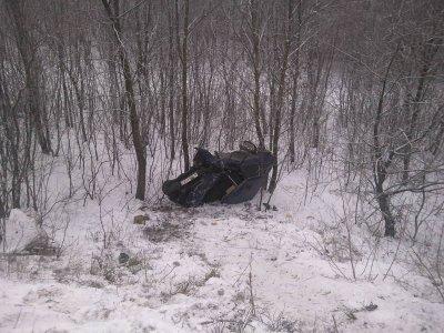 В Чебоксарах автомобиль упал с Гагаринского моста