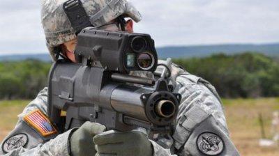 Американские винтовки XM25 добрались до Афганистана