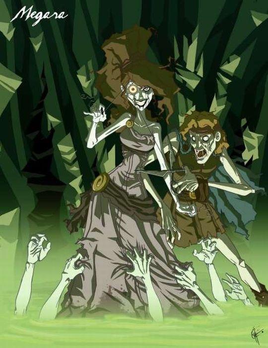 картинки принцессы страшные