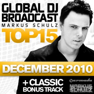 Global DJ Broadcast Top 15 December 2010