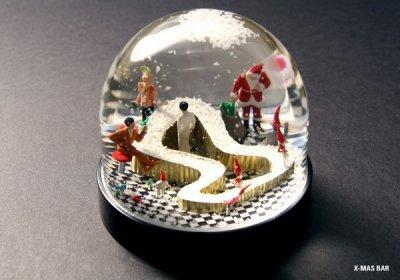Коллекция снежных шаров