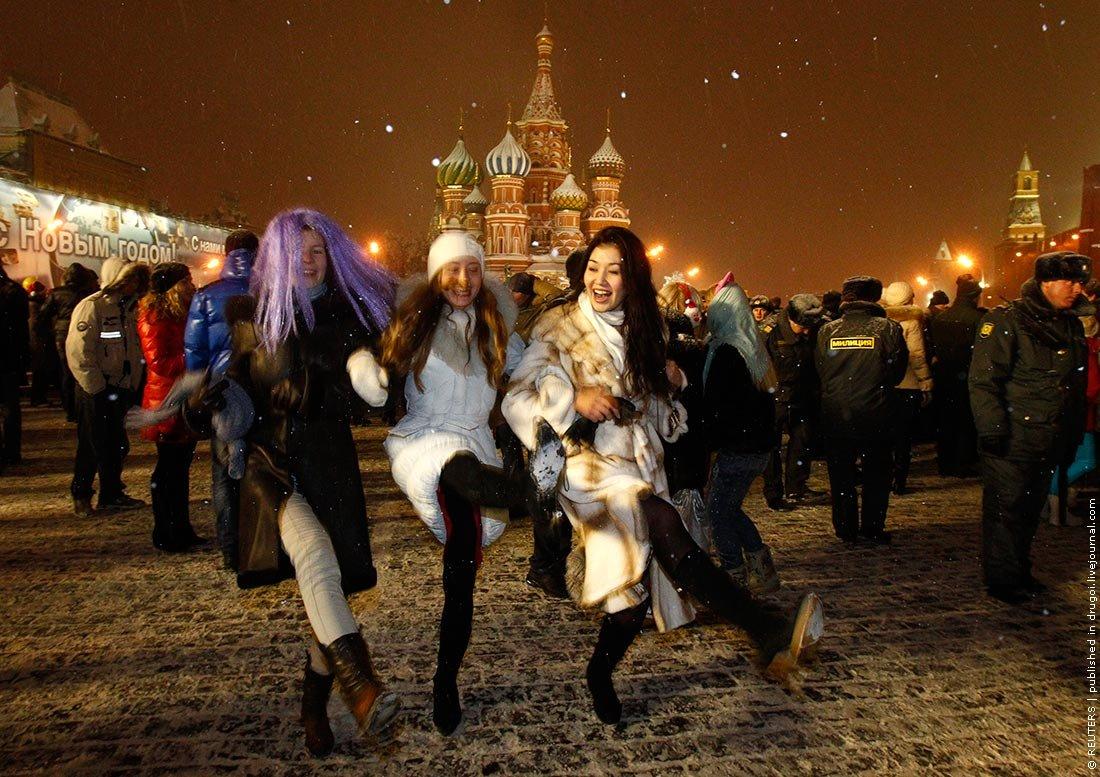 Новый год 2017 в россии новый