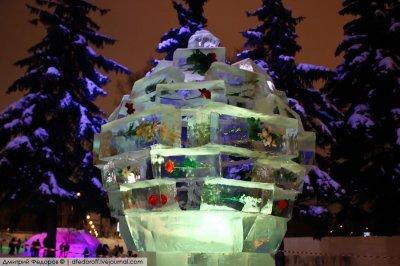 Фестиваль ледовых скульптур на ВДНХ