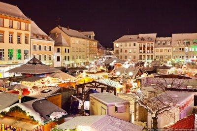 Weihnachtsmarkt — Рождественский базар в Германии