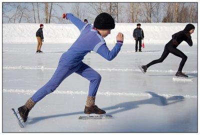 На стадионе «Олимпийский» пройдут соревнования по конькобежному спорту «Лед надежды нашей»