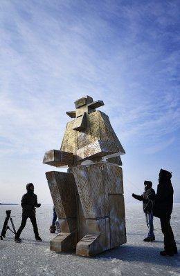 Во Владивостоке возведён новый памятник – рыбакам