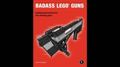 Чумовая реклама книги о том как сделать Lego-пушки
