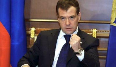 Медведев снимает зерно с торгов
