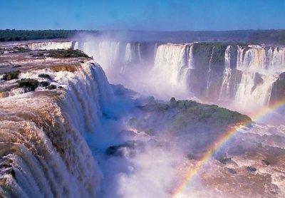 Водопад Игуасу и Глотка Дьявола (18 фото)