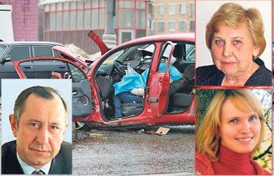 ФАР: за рулем «Мерседеса» во время ДТП на Ленинском был вице-президент «ЛУКойла» Барков