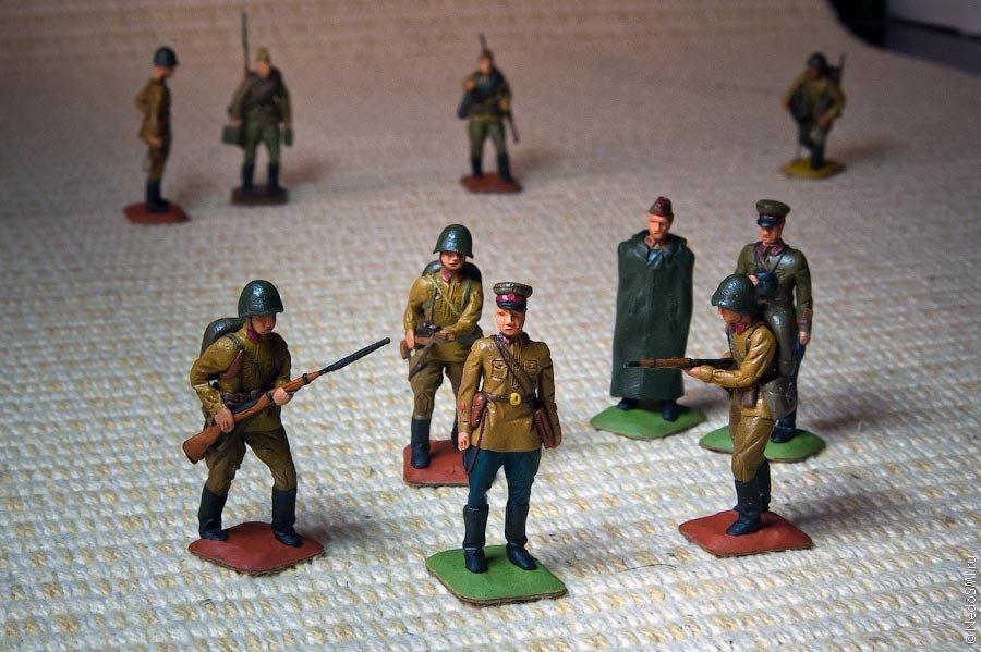 Изготовление своими руками солдатиков