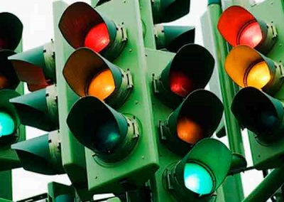 Определены светофоры, которые будут переключены от общедомовых узлов учета