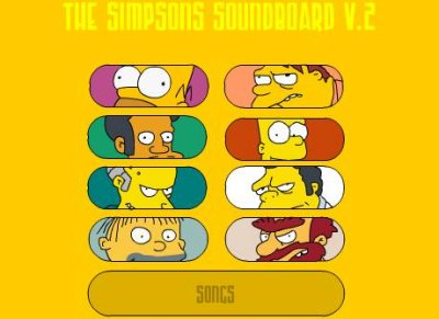 Homer Simpson Soundboard