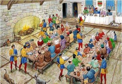 О средневековой кухне