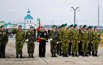 Генеральная репетиция военного парада в Чебоксарах