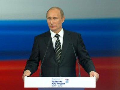 """Путин призвал создать к выборам """"широкий народный фронт"""""""