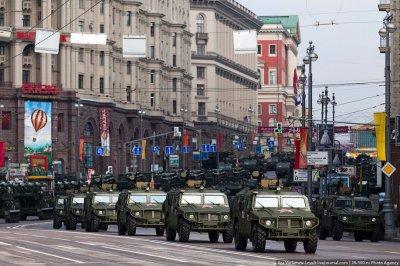 Генеральная репетиция парада Победы 2011 в Москве