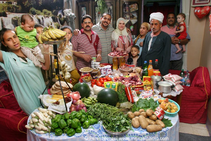 Потребительская корзина в разных странах мира (33 фото)