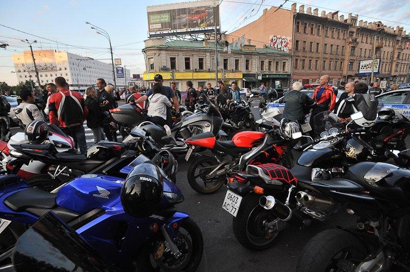 Мотоциклов в москве фото