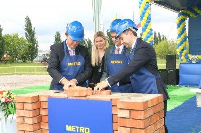 В Чебоксарах состоялась закладка первого камня в основание будущего магазина МЕТРО