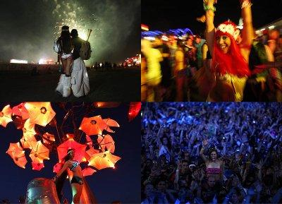 Рейв-фестиваль в Лас-Вегасе