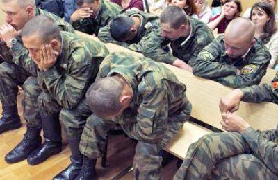 Военные считают, что российские матери воспитывают моральных уродов