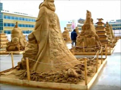 Фестиваль песчаной скульптуры.Чебоксары